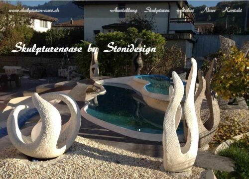 Website www.Skulpturen-Oase.ch