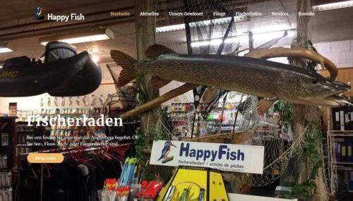 Website happyfish.ch