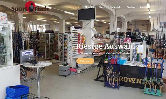 Website sport-fisch.ch